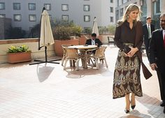 Queen Maxima of the Netherlands started this morning a trip to Pakistan in its UN representative capacity for finance and development.