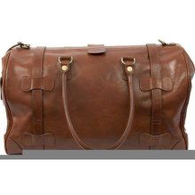 Dr. Koffer Country Lux Leather Chaucer Travel Bag