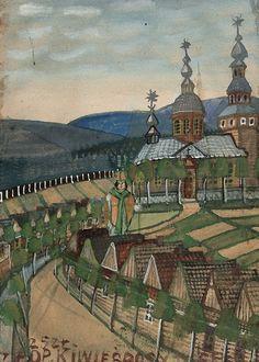 Геній українського мистецтва Дровняк за життя створив 40 тисяч картин.  Никифор