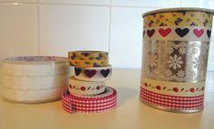 El taller de Naidú: Bote de lápices decorado con washi-tape