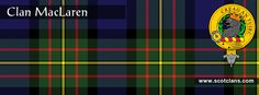 Clan MacLaren Tartan and Crest    http://www.scotclans.com/scottish_clans/clan_maclaren/