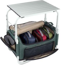 REI Camp Pack-N-Prep Tote/Table - It keeps all your camp kitchen items organized and accessible so you can whip up a meal