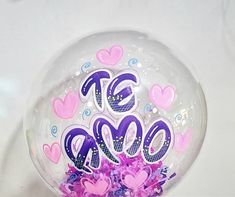 Balloon Decorations, Snow Globes, Balloons, Best Gifts, Lettering, Store, Frases, Gift Shop Decor, Small Gifts For Boyfriend