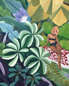 Angela Mckay - 9 illustratrices de talent à suivre – Au coin des rues Art Inspo, Guache, Feminist Art, Art Moderne, Watercolor Art, Pop Art, Art Drawings, Art Photography, Artsy