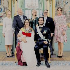 """crownprincesses: """"""""The official pictures of Prince Gabriel of Sweden's Christening """" """""""