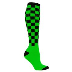 Red Lion Checkerboard Bold Athletic Socks | eBay - great for the color run!