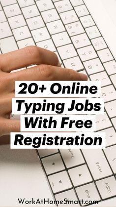 Work Online Jobs, Online Typing Jobs, Work From Home Companies, Work From Home Jobs, Earn Money From Home, How To Get Money, Typing Jobs From Home, Data Entry, Leadership Development