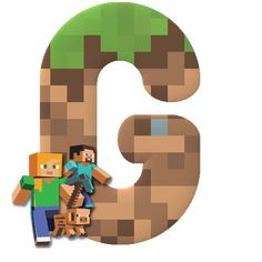 Alphabet with Minecraft Characters. Minecraft Logo, Minecraft Gifts, Minecraft Sword, Hama Beads Minecraft, Minecraft Pixel Art, Cool Minecraft, Minecraft Skins, Minecraft Buildings, Perler Beads