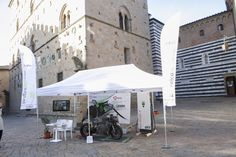 Energica @ Priori Square with Enel & Efacec charging system
