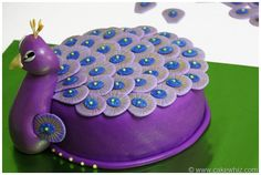 peacock cake @Teekeela Aranda