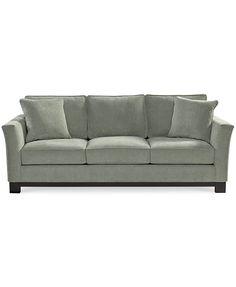 Kenton Fabric Sofa | macys.com