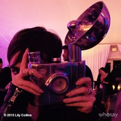 Making sure to capture all of life's random moments. Fast Times at the #LAFilmFest #gobigorgohome...