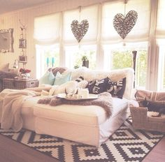 I want my apartment living room to look like this! Home Bedroom, Bedroom Decor, Bedrooms, Bedroom Ideas, Deco Design, Dream Rooms, My New Room, House Rooms, Home And Living