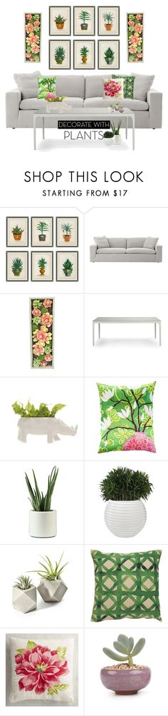 """""""green house."""" by tothineownselfbtrue ❤ liked on Polyvore featuring interior, interiors, interior design, home, home decor, interior decorating, Soicher Marin, Gold Eagle, Ethimo and Mariska Meijers"""