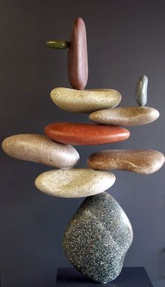 Amazing Stone Sculptures by California based Artist Woods Davy,Amazing Stone Sculpture by California based Artist Woods Davy How To Produce Wood Art ? Wood art is generally the work of shaping around and inside, p. Stone Crafts, Rock Crafts, Rock Sculpture, Stone Sculptures, Art Pierre, Zebra Art, Crystal Garden, Land Art, Pebble Art
