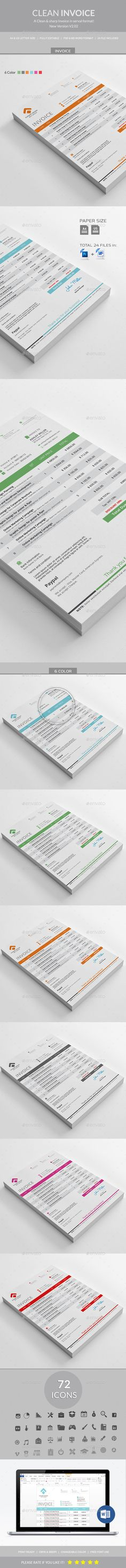 Invoice Templates Vol  Template Business Proposal And Ui Ux