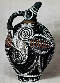 Contemporary Ceramic Art. Greek was supposed to be a vase but they cut it! I just learned this :)
