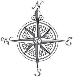 Celtic Compass Rose Design by WildSpiritWolf.deviantart