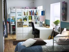 Kids Room Dividers ikea Colourful : Bright Boys Room Small Designs With Wooden Floor And Comfortable Bed And White Desk And Kids Room Dividers Ikea And Black Chair With Roller Curtains