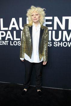 Saint Laurent Fall 2016 Menswear Front Row Celebrity Photos - Vogue