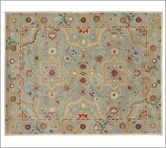 Leslie Persian-Style Rug #potterybarn - $699 for 8x10 (full price) or $899 for a 9x12 (full price)