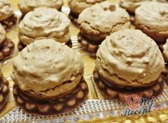 Oreo Cupcakes, Cake Cookies, Christmas Sweets, Christmas Cookies, Cookie Desserts, Cookie Recipes, Czech Recipes, Desert Recipes, Coffee Cake