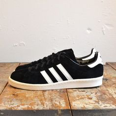 adidas campus 80s black white