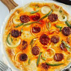 Quiche de chorizo para una comida llena de sabor 😊 #food #foodie #recetas #recipes #chorizo #quiche