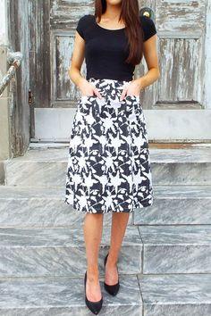 Hawaii Midi Skirt from Good Cloth