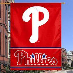 Philadelphia Phillies WinCraft x Script Logo Single-Sided Vertical Banner Philadelphia Sports, Baseball Party, Script Logo, Baby Kids, Flag, Activities, Sports Teams, Banners, Legends