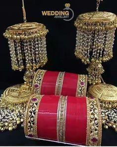 Wedding Chura, Indian Wedding Bride, Wedding Wear, Indian Bridal, Bridal Bangles, Wedding Jewelry, Bridal Chuda, Bridal Mehndi Dresses, Punjabi Bride