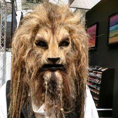 #mulpix Beauty and the Beast Make-Up by Jim Udenberg at IMATS London.  #imats…