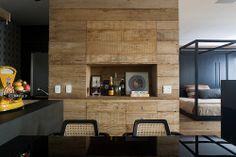 #wood #black #kitchen #dining #bedroom #bed