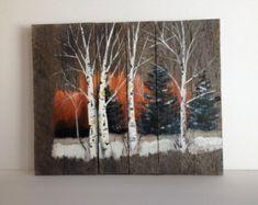 Pallet pittura effetto consumato arte legno arte di Pallet