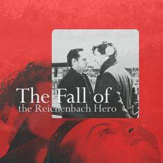 the reichenbach fall Jim Moriarty, Sherlock Bbc, The Reichenbach Fall, 221b Baker Street, Music Mix, Johnlock, Trust Yourself, Talk To Me, Tv Shows