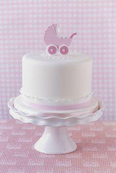 Simply gorgeous christening cake