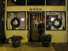 adorable rustic restaurant, fantastic food, service and drinks! the wren, bowery, nyc.