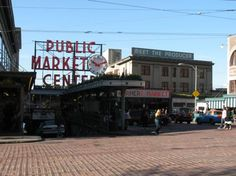 Pike Street Market, Seatlle.