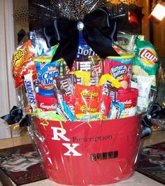 26 things to put in get well gift baskets pinterest surgery large get well soon gift basketcandy bouquet by fancy bloomers candy bouquets solutioingenieria Images