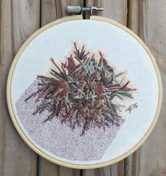 Allie Frazier embroidery