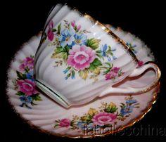 Foley Pink Swirl/ Roses
