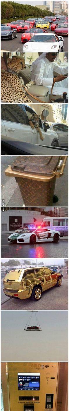 Things in Dubai.