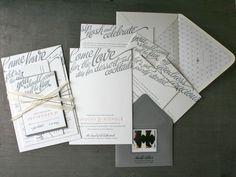 Wedding - Gray + Ribbon Tied
