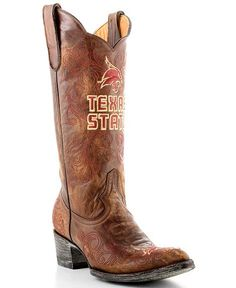 Texas State University Gameday Cowboy Boots