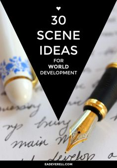 Getting lost in the story world is every writer's (and reader's) favourite past-time, isn't it? These 30 scene ideas are just a small sample, but they're sure to send you on some exciting worldbuilding tangents. Don't miss the previous posts: 30 Scene Ideas for Character Development and 30 Scene Ideas for Plot Development, and subscribe…