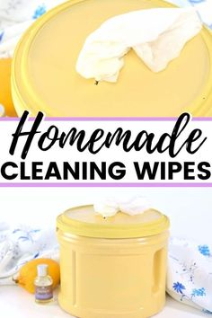 Homemade Cleaning Wipes How to make DIY cleaning wipes that are great for quick clean-ups in the kitchen or anywhere around the house. Homemade Cleaning Wipes, Cleaners Homemade, Cleaning Recipes, Cleaning Hacks, Cleaning Solutions, Green Cleaning, Spring Cleaning, Best Shakes, Natural Cleaners