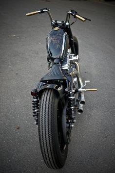 Rough Crafts kills it with this Harley-Davidson Sportster custom job.