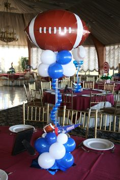 elegant balloons gallery bar and bat mitzvah sports themed