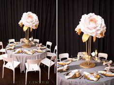 Centerpieces de flor de papel 36 pulgadas pulgadas flores en