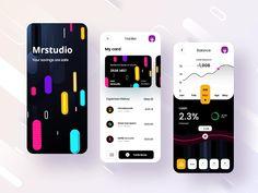 Android App Design, Mobile App Design, Mobile Ui, Android Apps, Ui Ux Design, One Design, Card Balance, Behavioral Science, Interactive Design